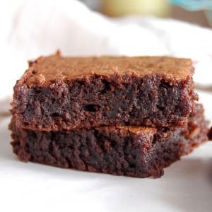 Image d'un brownie au chocolat