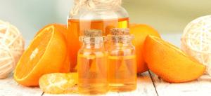 Huile essentielle extraite du zeste d'orange