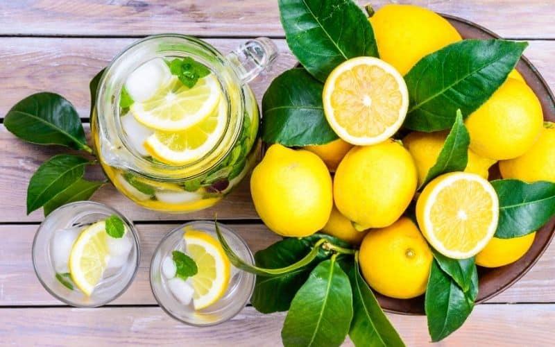 Bienfaits du citron santé, anti-âge, détox